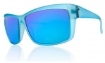 Electric Riff Raff Sunglasses Sunglasses - Blues / Grey Blue Chrome Lens