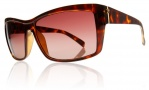 Electric Riff Raff Sunglasses Sunglasses - Tortoise Shell / Brown Gradient Lens