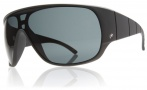 Electric Shaker Sunglasses Sunglasses - Matte Black / Grey Fire Chrome Lens