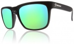 Electric Knoxville Sunglasses Sunglasses - Matte Black / Grey Green Chrome Lens