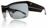 Electric Mutiny Sunglasses Sunglasses - Black Chex / Grey Lens 