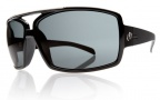 Electric Ohm III Sunglasses Sunglasses - Gloss Black / Grey Polycarbonate Polarized Lens