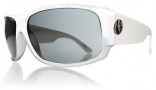 Electric Module Sunglasses Sunglasses - Gloss White / Grey Lens