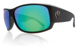 Electric Module Sunglasses Sunglasses - Matte Black / Grey Green Chrome Lens