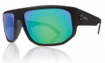 Electric BPM Sunglasses Sunglasses - Matte Black / Grey Green Chrome Lens