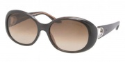 Ralph Lauren RL8074 Sunglasses Sunglasses - 517513 Dark Havana / Brown Gradient