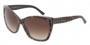 Dolce & Gabbana DG4111M Sunglasses Sunglasses - 199513 Leopard / Brown Gradient