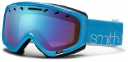 Smith Optics Phase Snow Goggles Goggles - Light Blue Twist / Blue Sensor Mirror