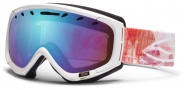 Smith Optics Phase Snow Goggles Goggles - Pink Geomental / Blue Sensor Mirror