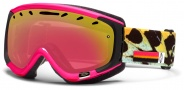 Smith Optics Phase Snow Goggles Goggles - Shocking Pink Migration / Red Sensor Mirror