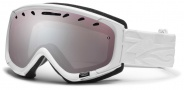Smith Optics Phase Snow Goggles Goggles - White Facet / Ignitor Mirror
