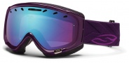 Smith Optics Phase Snow Goggles Goggles - Shadow Purple Riviera / Blue Sensor Mirror