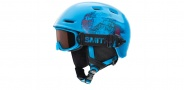 Smith Optics Galaxy / Cosmos Jr. Combo Pack Goggles Goggles - Cyan Fader / RC36