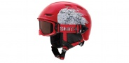 Smith Optics Galaxy / Cosmos Jr. Combo Pack Goggles Goggles - Red Fader / RC36