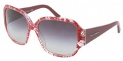 Dolce & Gabbana DG4119 Sunglasses Sunglasses - 18978G Red Lace Gray Gradient