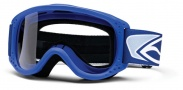Smith Optics Junior MTB Series Snow Goggles Goggles - Blue Clear AFC Lexan Lens