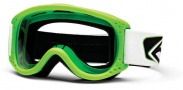 Smith Optics Junior MTB Series Snow Goggles Goggles - Green Clear AFC Lexan Lens