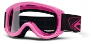 Smith Optics Junior MTB Series Snow Goggles Goggles - Hot Pink Clear AFC Lexan Lens