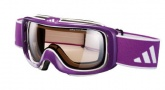 Adidas ID2 SKi Goggles A182  Goggles - Shiny Purple / LST active Light Silver
