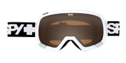 Spy Optic Platoon Goggles - Bronze Lenses Goggles - White / Bronze