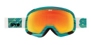 Spy Optic Platoon Goggles - Spectra Lenses Goggles - Summer Stripes / Bronze with Red Spectra