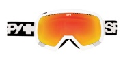 Spy Optic Platoon Goggles - Spectra Lenses Goggles - White / Bronze Red Spectra