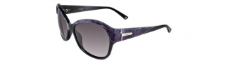 Bebe BB7039 Sunglasses Sunglasses - Purple Marble / Grey Gradient