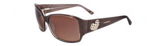 Bebe BB7036 Sunglasses Sunglasses - Smoked Topaz / Brown Gradient
