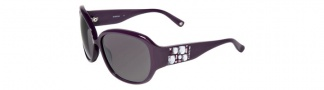 Bebe BE7028 Sunglasses Sunglasses - Amethyst / Grey Gradient