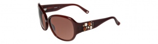 Bebe BE7028 Sunglasses Sunglasses - Smoked Topaz / Brown Gradient