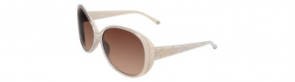 Bebe BB7026 Sunglasses Sunglasses - Sand / Brown Gradient