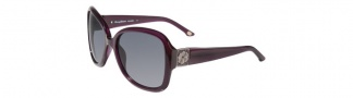 Tommy Bahama TB7014 Sunglasses Sunglasses - Plum / Grey Polarized