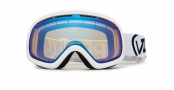 Von Zipper Skylab Goggles Goggles - WHY  White Yellow - Project Flatlight