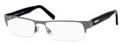 Gucci 1910 Eyeglasses Eyeglasses - 0LVI Ruthenium Dark Gray