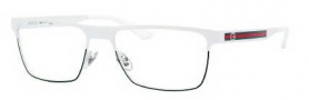Gucci 2205 Eyeglasses Eyeglasses - 0WWI White Green