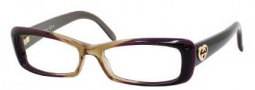 Gucci 3516 Eyeglasses Eyeglasses - 0WO9 Shiny Brown