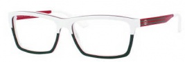 Gucci 3517 Eyeglasses Eyeglasses - 0WXF White Red Green