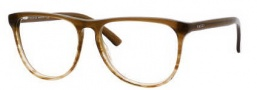 Gucci 3518 Eyeglasses Eyeglasses - 0WW0 Brown Striped