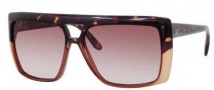 Gucci 3532/S Sunglasses Sunglasses - 03S2 Honey Havana (FM Brown Violet Shaded Lens)