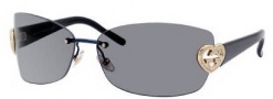 Gucci 4201/S Sunglasses Sunglasses - 0WNM Blue (AP Gray Lens)