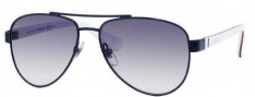 Gucci 5501/C/S Sunglasses Sunglasses - 0WQK Blue Red White (JJ Gray Gradient Lens)