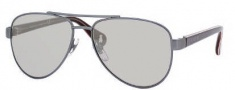 Gucci 5501/C/S Sunglasses Sunglasses - 0WQU Mist Gray White (SS Silver Mirror Lens)