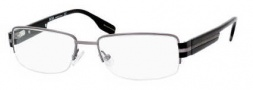 Hugo Boss 0259 Eyeglasses Eyeglasses - 0V81 Dark Ruthenium Black