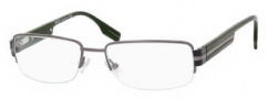 Hugo Boss 0259 Eyeglasses Eyeglasses - 0EN3 Dark Ruthenium Green