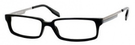 Hugo Boss 0262/U Eyeglasses Eyeglasses - 0DO9 Black Dark Ruthenium Gray
