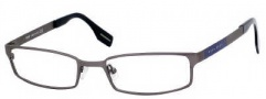Hugo Boss 0300/U Eyeglasses Eyeglasses - 0R80 Semi Dark Ruthenium