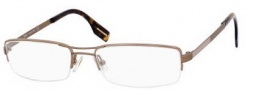 Hugo Boss 0301/U Eyeglasses Eyeglasses - 0LI7 Shiny Matte Brown