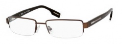 Hugo Boss 0310 Eyeglasses Eyeglasses - 0PJA Semi Brown