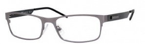 Hugo Boss 0313 Eyeglasses Eyeglasses - 0PJL Dark Ruthenium Blue