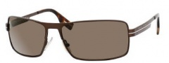 Hugo Boss 0285/S Sunglasses  Sunglasses - 0IB2 Matte Shiny Brown (X1 Brown Lens)